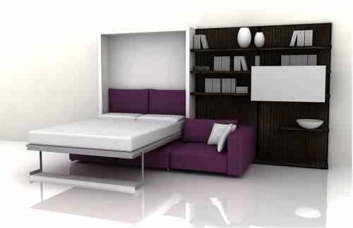 Гостиная и спальня в одном