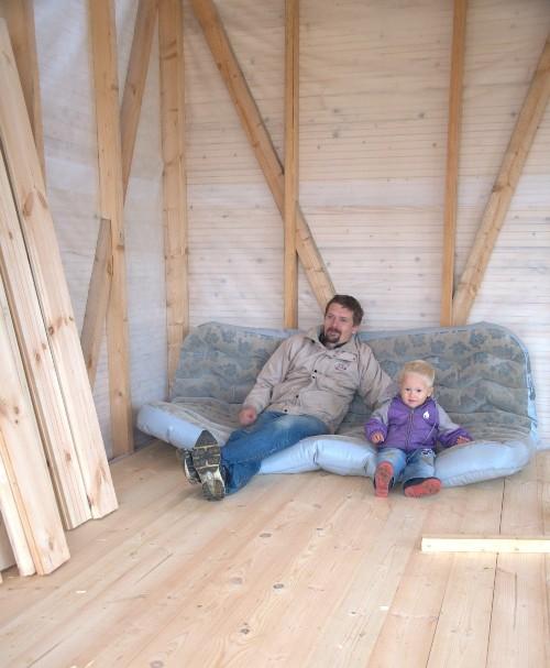 10.Каркасные стены, пол и потолок