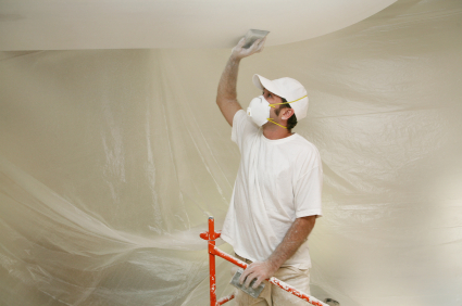 Как ремонтировать потолок